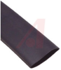 Tubing, adhesive wall; 1/2 in. ID; 2:1 Shrink; 48 in. length; Black -- 70101251
