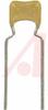 CAPACITOR CERAMIC , RADIAL 1000PF, 100V, 5%,C0G -- 70195726 - Image