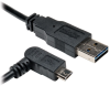 Universal Reversible USB 2.0 Hi-Speed Cable (Reversible A to Right-angle 5Pin Micro B M/M) 3-ft. -- UR050-003-RAB