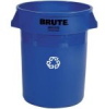 Rubbermaid 263273BL Brute® Blue 32 gal Recycle -- 263273BLRM