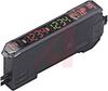 Sensor, Digital; Photoelectric; Fiberoptic Sensing Mode; NPN; Red LED; Bracket -- 70178158