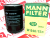 MANN FILTER W940/15N ( OIL FILTER SPIN ON ) -Image