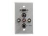 WP SGL ALUM HD-15 3.5MM A/V S-VIDEO -- 40499