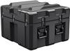 Pelican AL2624-1205 Single Lid Cube Shipping Case with Foam and Casters - Black -- PEL-AL2624-1205RPFC032 -Image