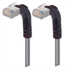 Category 5E Shielded Right Angle Patch Cable, Right Angle Up/Right Angle Up, Gray 1.0 ft -- TRD815SRA5GRY-1 -Image