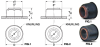 Self-Clinching Press-Fit Sleeve Bearings (metric) -- A 7Z40MFSB12M