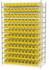 Shelf Bin Wire Systems -- HAWS244830124-Y -Image
