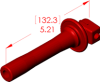 Straight Boot Insulator -- 18090 -- View Larger Image