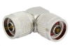 N Male to N Male Right Angle Adapter -- PE9198