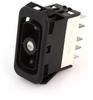 EATON NGR Rocker Switch, SPDT, On-Off-On, Two Lights, NGR15681BNAAN -- 43005 -Image