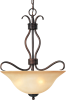 Basix EE 3-Light Invert Bowl Pendant -- 85121WSOI