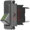 Switch, Rocker, Illuminated, FULL Size,EURO LOOK, SPST, ON-NONE-OFF -- 70155689 - Image