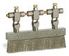 "Valve Brush, 6 3/4"" X 3/8"" Flat Stainless Steel, 1/4"" OD Tube Inlet -- B309-3X01 -Image"