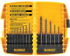13-Pc. Black Oxide Drill Bit Set -- DW1163