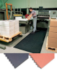 CUSHION-EASE® SOLID RUBBER MAT -- H556S0033BL