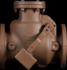 Series 52-SC Swing Check Valves - Lever and Weight