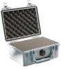 Pelican 1150 Case with Foam - Silver   SPECIAL PRICE IN CART -- PEL-1150-000-180 -Image