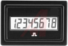 Counter; Digital; 10 to 277 VDC and 20 to 277 VAC; LCD; 8; 99999999; Spade -- 70115369