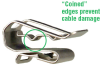 Cable Clips for 1-2 Cab'es -- HEYClip™ SunRunner® - Image