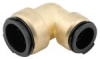 Quick-Connect Union Elbow - Lead Free Brass -- LF4717R -- View Larger Image