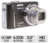 Panasonic ZS8 DMC-ZS8K LUMIX Digital Camera - 14.1 Exact Meg -- DMC-ZS8K