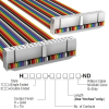 Rectangular Cable Assemblies -- H3DDS-3406M-ND -Image