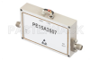 43 dB Gain, 1 Watt P1dB, 12 GHz to 18 GHz, Broadband High Gain Amplifier, 39 dBm IP3, 6 dB NF, SMA -- PE15A3507 -Image