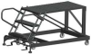 Mobile Work Platform,Length 48 In,3 Step -- 9AEM3