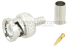 BNC Male Connector Crimp/Solder Attachment For RG55, RG142 Cable -- SC6023 -Image