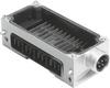 Interlinking block -- CPX-M-GE-EV-S-7/8-CIP-4P -- View Larger Image
