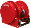 Low Profile Spring Driven Vacuum Recovery Hose Reel Series SD10000 -- SD14000 OVP