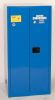 Eagle 60 gal Blue Hazardous Material Storage Cabinet - 31 1/4 in Width - 65 in Height - Floor Standing - 048441-33412 -- 048441-33412