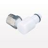 Coupling Insert, Ferruleless Polytube Elbow, Striaght Thru -- PLC21006 -Image