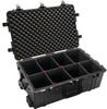 Pelican 1650 Case with TrekPak Dividers - Black   SPECIAL PRICE IN CART -- PEL-016500-0050-110 -Image