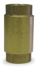 Spring Check Valve,1 In,FNPT,Brass -- 5YM28