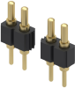 Rectangular Connectors - Spring Loaded -- ED10659-ND