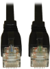 Augmented Cat6 (Cat6a) Snagless 10G Certified Patch Cable, (RJ45 M/M) - Black, 14-ft. -- N261-014-BK - Image
