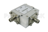 Circulator with 16 dB Isolation from 2 GHz to 4 GHz, 10 Watts and SMA Female -- PE83CR005 - Image