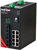 NT24k®-11GXE3 Managed Gigabit Ethernet Switch, SC 10km PTP Enabled