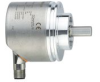 Incremental encoder with solid shaft and display -- RVP510 -Image