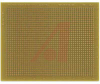 PROTOBOARD, LEAD FREE, 4 X 5 INCH BOARD, GOLD PLATED HOLES, .1 X .1 INCH GRID -- 70012456