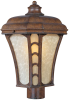 One Light Wood Post Mount -- DV63(Maxim 85480LTAP)