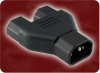 C14 TO C13X2 ADAPTER BLK -- 0505.B