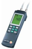 testo 521-3, differential pressure meter 0 to 250 Pa, battery and calibration protocol included -- 0560 5213