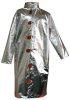 Chicago Protective Apparel Large Aluminized Carbon Fleece Welding & Heat-Resistant Coat - 50 in Length - 603-ACF LG -- 603-ACF LG