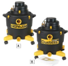 DUSTLESS TECHNOLOGIES H.E.P.A. Wet/Dry Vacs -- 4523400