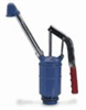 Hand-Operated Lever drum pump, 4 strokes per gallon, steel pump body -- GO-06511-00