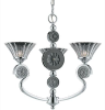 39418 Mid. Chandeliers-Glass Up -- 373800