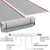 Rectangular Cable Assemblies -- H1BXH-3436G-ND -Image