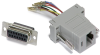 RJ45/DB15 Female Adapter -- 10-01045